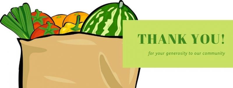 Thank you for your generosity to our community!