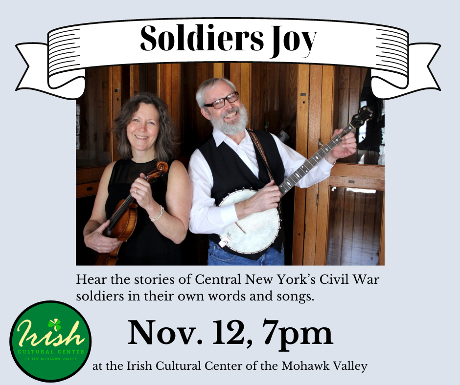 Soldiers Joy Irish Cultural Center Utica NY