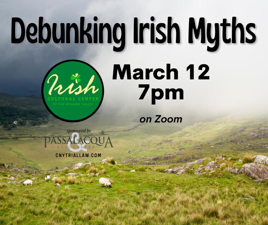 Debunking Irish Myths event