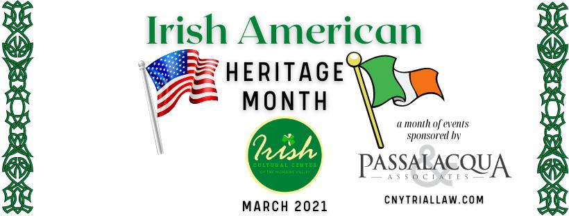 Irish American Heritage Month 2021