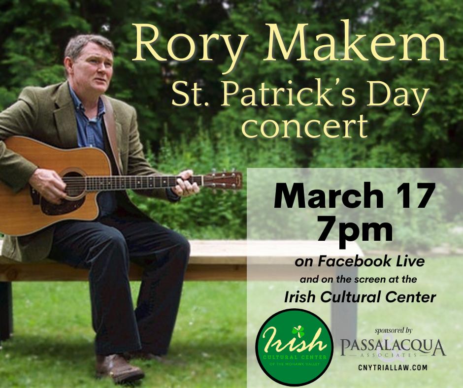 Rory Makem on Facebook Live