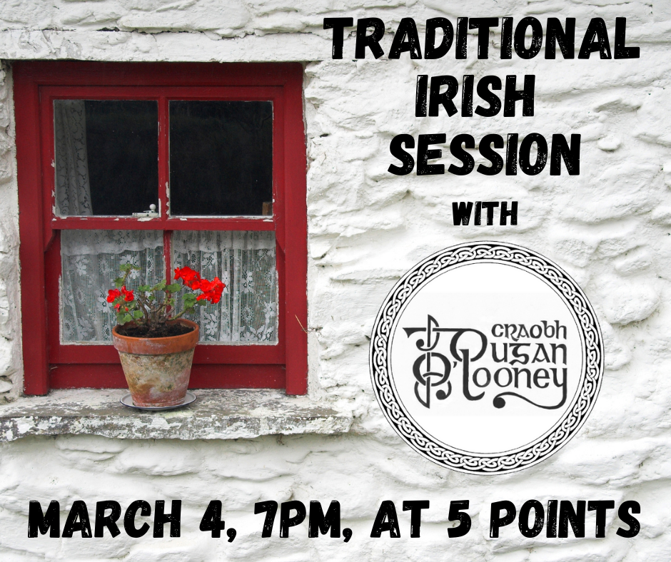 traditional Irish Session Utica, NY