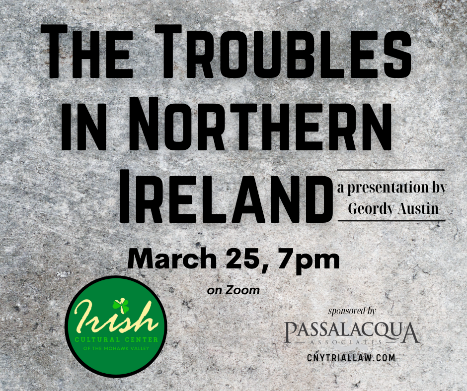 The Troubles in Northern Ireland event